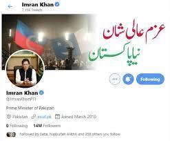 Imran Khan hits 14-million follower